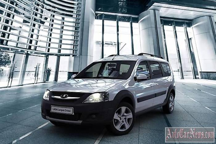 Авто 2015 Lada Largus Cross фото