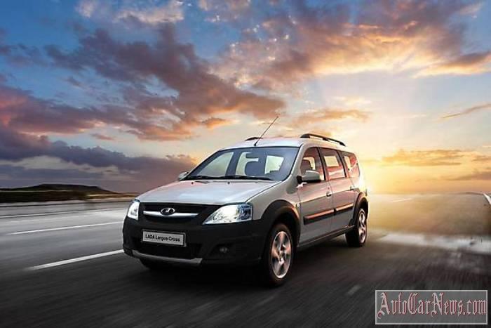 Новый авто фото Lada Largus Cross
