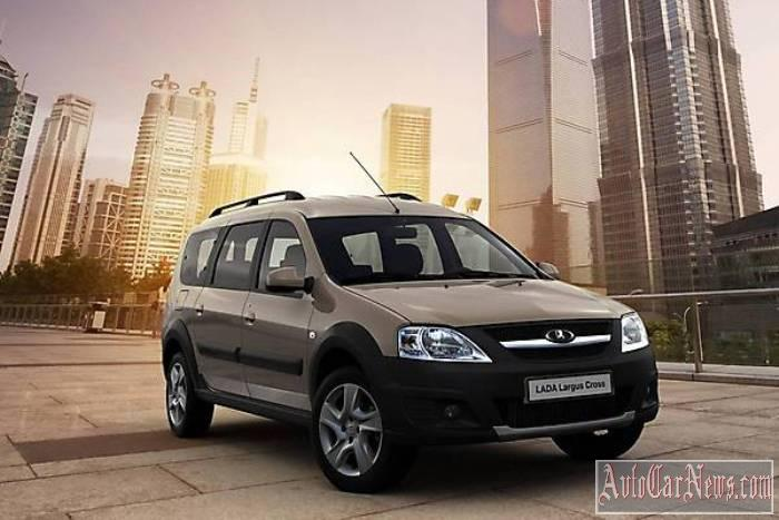 2015 Lada Largus Cross фото new
