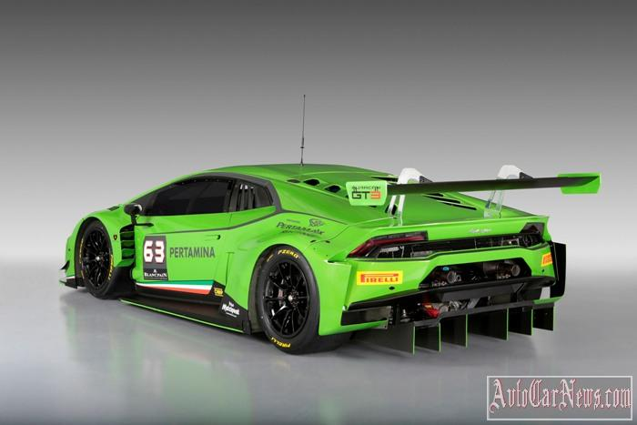 2015 Lamborghini Huracan GT3 Photo