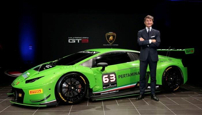 2015 Lamborghini Huracan GT3 Photo