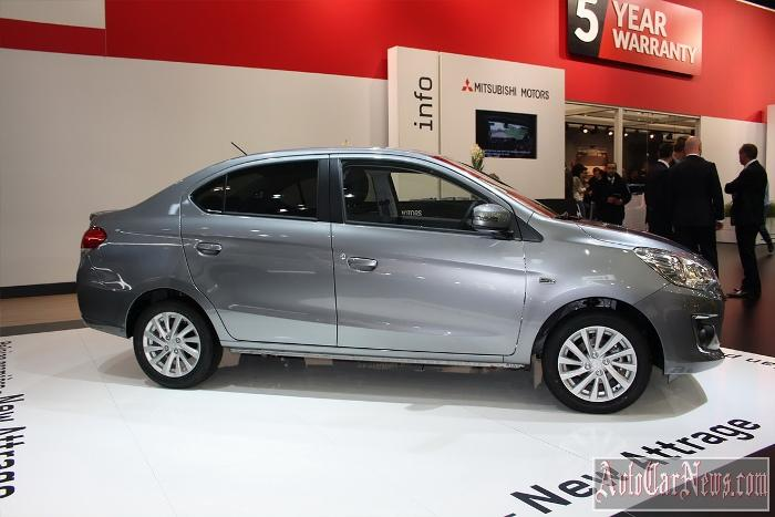2015 Mitsubishi Attrage Photo