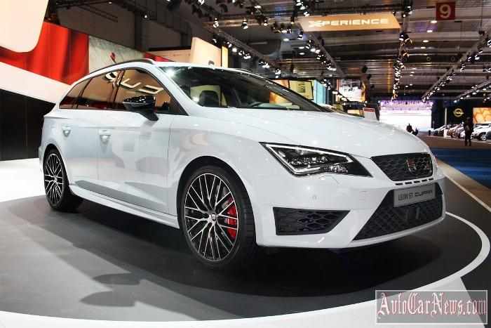 2015 SEAT Leon ST Cupra Photo