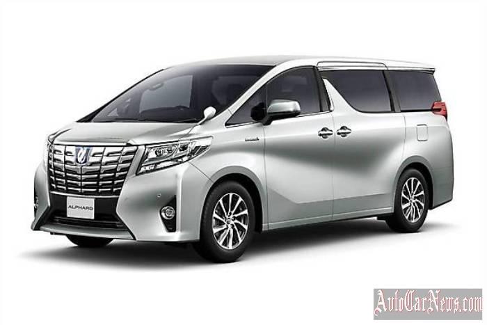 2015 Toyota Alphard Photo