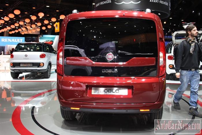 2015 Fiat Doblo Panorama Photo