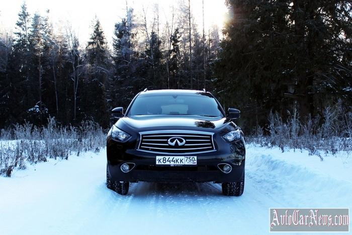 New 2014 Infiniti QX70 Photo