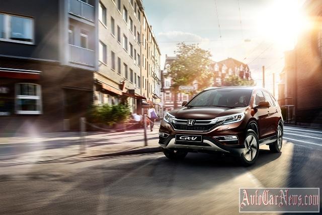 New Honda CR-V 2015 Photos