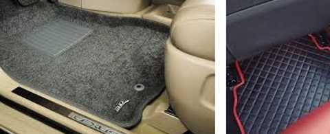 Автомобильный коврик: практично и красиво